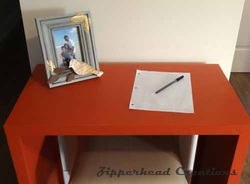 desk, small desk, DIY desk, small space desk, woodworking plans