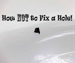 Hole Repair, Tub Repair, Home Improvement
