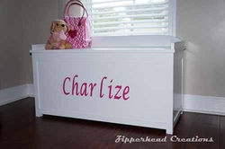 Toy Box; Girls toy box