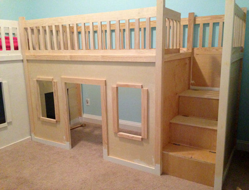 Playhouse Loft Beds Zipperhead Creations