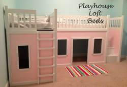 bed playhouse plans
