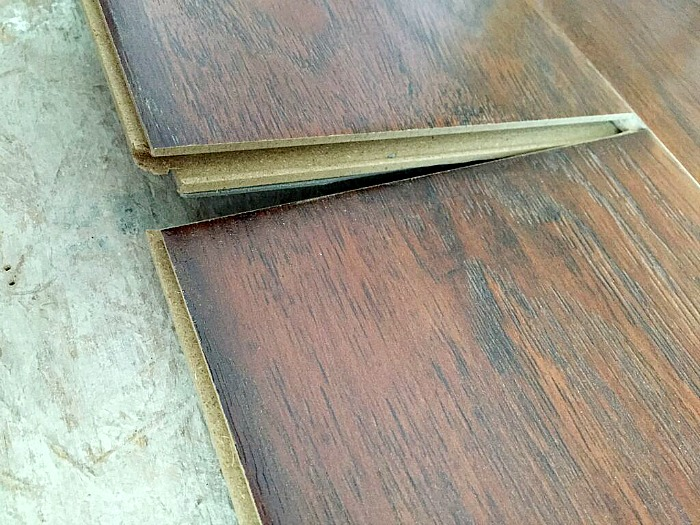 laminate over linoleum, installing laminate