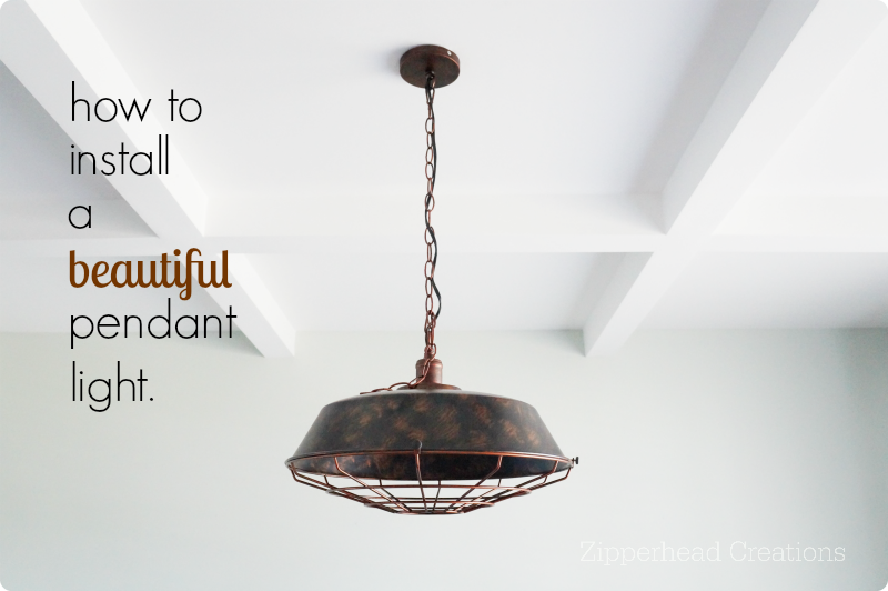 How to install a pendant light fixture zipperhead creations picture mozeypictures Choice Image
