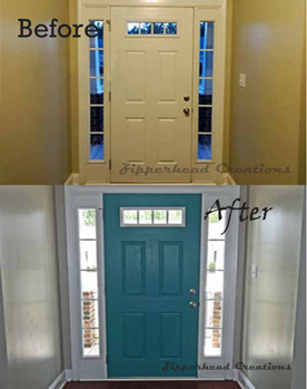 How to paint an interior door zipperhead creations how to paint an interior door planetlyrics Choice Image