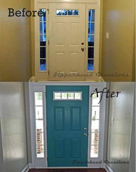 Amazing How To Repaint An Interior Door Image Collections Glass Door Design Painting  An Interior Door Best
